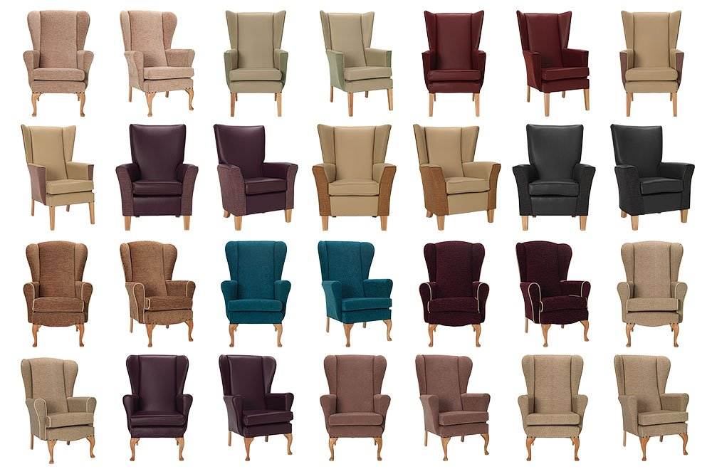 commercial photography of chairs