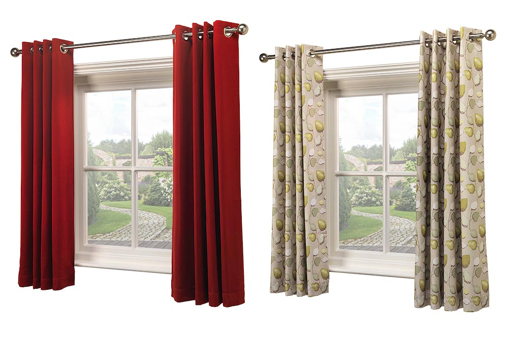 Product photography of curtains for Dayex