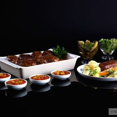 Food photography for Kenwood billboard advertising