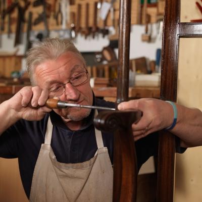 Photograph of carpenter