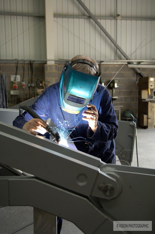 Industrial welder image