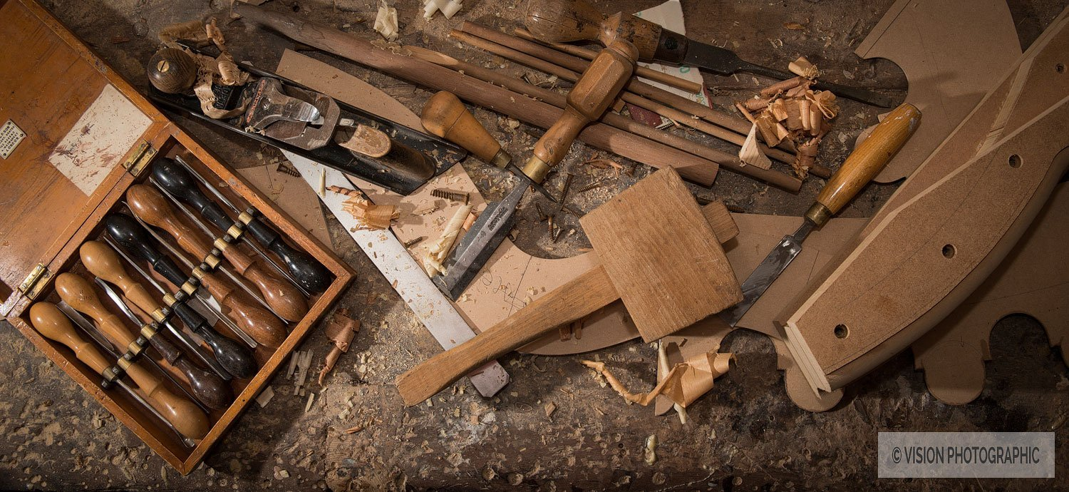 Tools used for background image