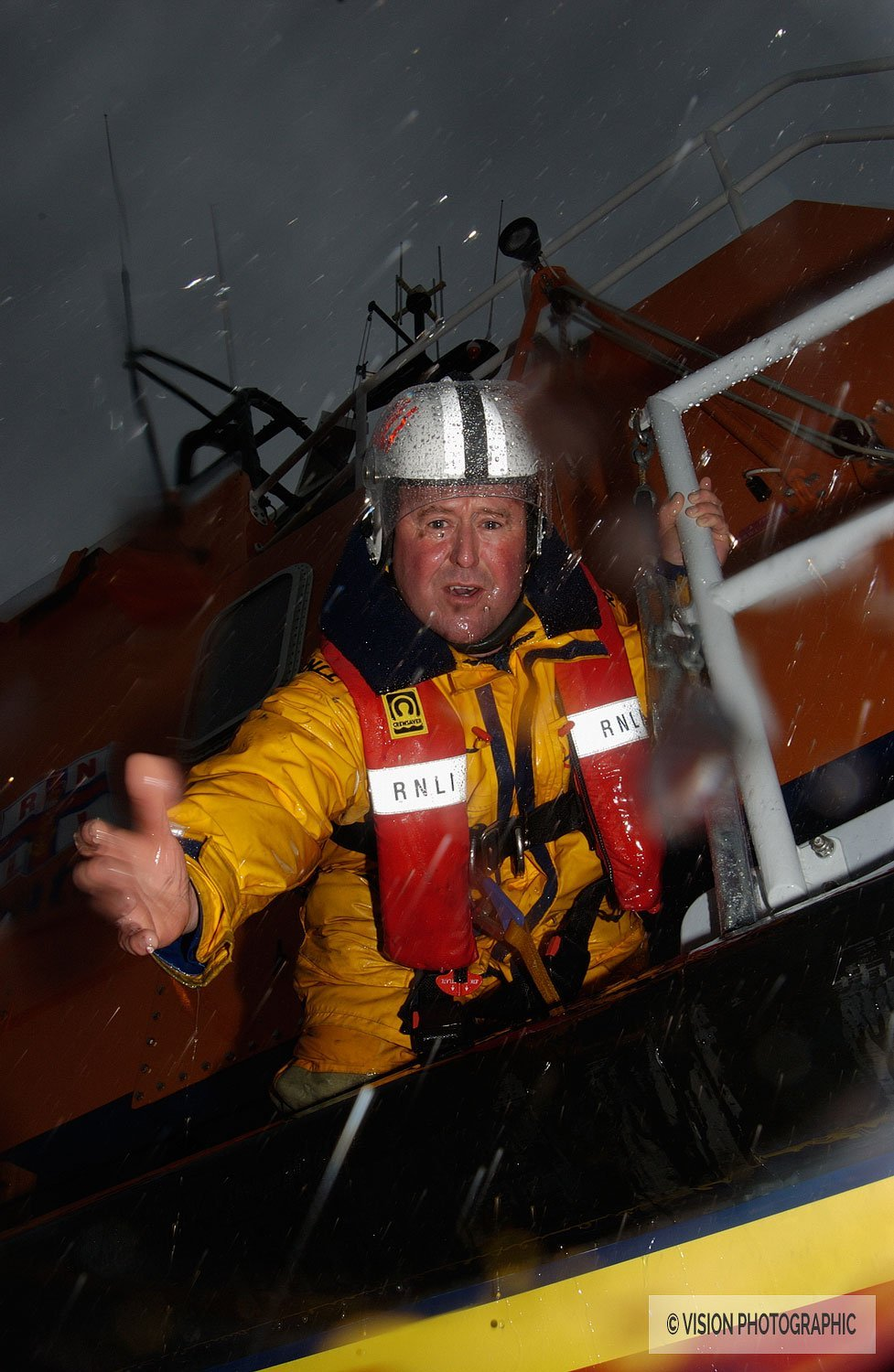Advertising photography for RNLI