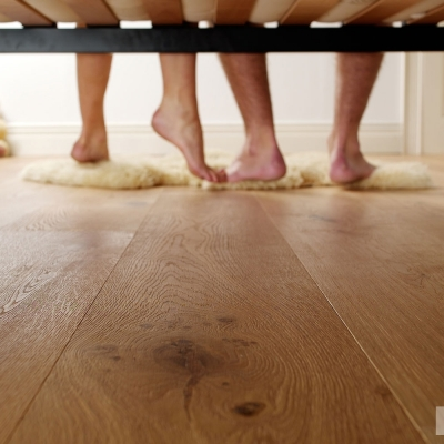 Advertising photography for flooring company