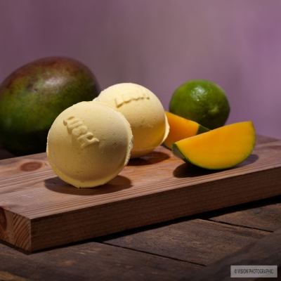 Cosmetics photography for Lush