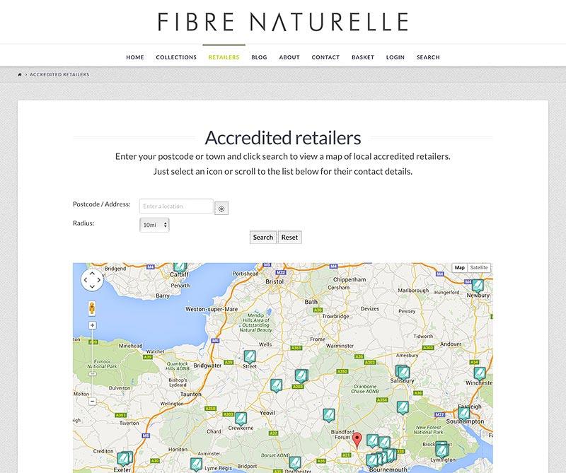 fibre naturelle retailers