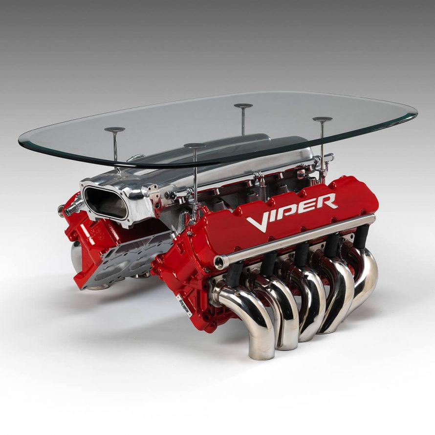 ornamentum designs viper engine table image