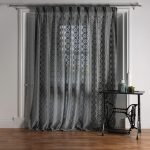 net curtain photography in bay window set
