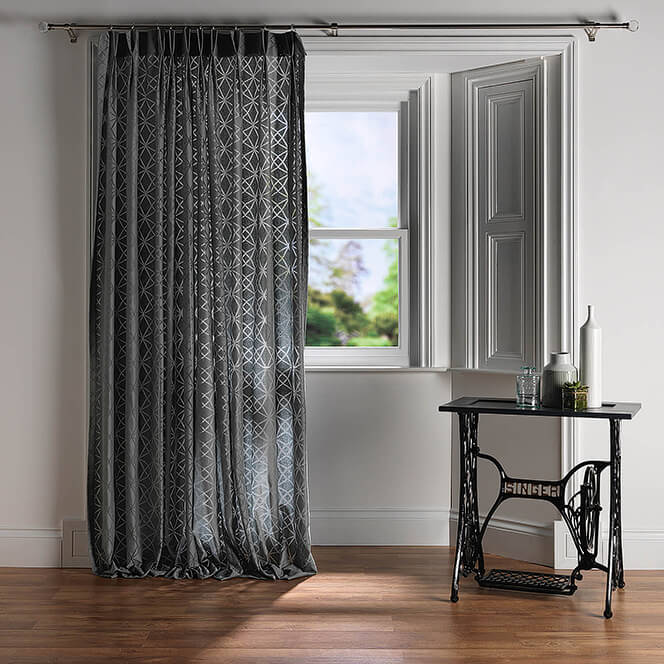 Bay window set for net curtain supplier